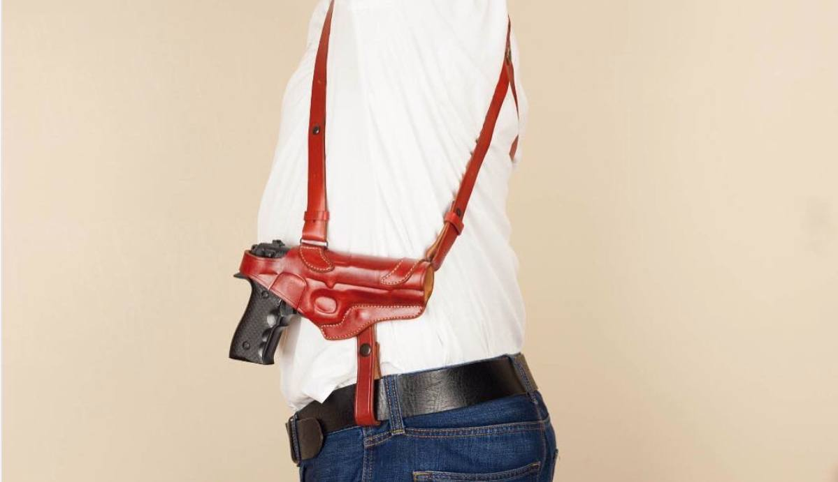 most comfortable shoulder holster