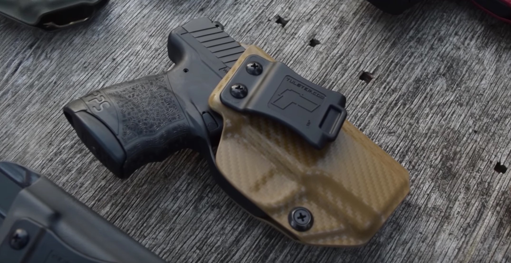 The 4 Best Holsters for Walther PPS M2 Guns - Firearm Shooters